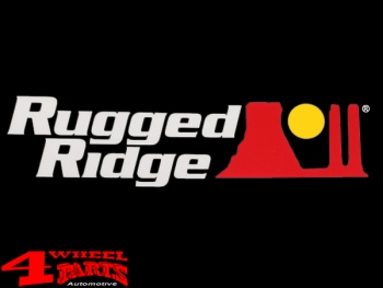 Rugged Ridge Decal White 16,5cm x 4,5cm unviversal