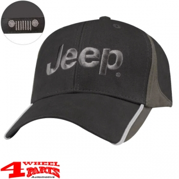 "Base Cap Jeep Logo embroidery in ""Dark Grey Sand"" from Mopar"
