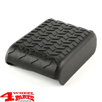 Arm Rest Pad Cover Polyurethane Black Wrangler JK year 07-10