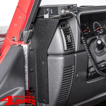Cb Radio Dash Mounting Bracket Jeep Wrangler Tj Year 97 06