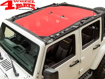 Summer Eclipse Bikini Top Mesh Red Wrangler JK Year 07 18 4 Doors
