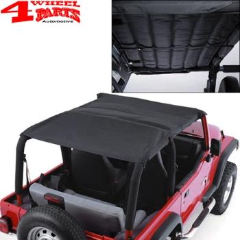 Jeep accoustic bikini top