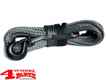 Winch Synthetic Rope dark gray Ø 10mm length 28,6m