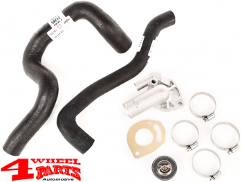 Jeep 2 5 Engine >> Radiator Cooling System Kit Jeep Wrangler Yj Year 91 95 With 2 5 L