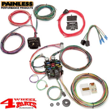 wiring replacement factory style harness from painless. Black Bedroom Furniture Sets. Home Design Ideas