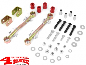 Sway Bar End Links Front quick-disconnect for Lift +90-100mm Wrangler TJ
