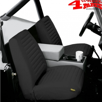Prime Seat Covers Pair Front Black Denim Low Back Bestop Jeep Cj Year 65 80 Uwap Interior Chair Design Uwaporg