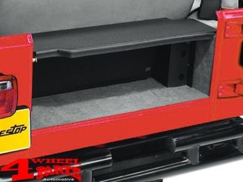 Swell Rear Storage Box Behind The Seat Bench Wrangler Yj Year 87 95 Creativecarmelina Interior Chair Design Creativecarmelinacom