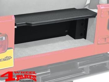 Fantastic Rear Storage Box Behind The Seat Bench Wrangler Yj Year 87 95 Creativecarmelina Interior Chair Design Creativecarmelinacom