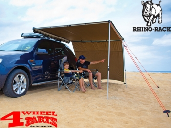rhino rack seitenteil f r sunseeker ii markisen mit 2000mm 2000mm breite 4 wheel parts. Black Bedroom Furniture Sets. Home Design Ideas