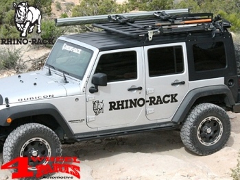 Overhead Rhino Rack Mounting Kit + Platform JK year 07-18 4-doors