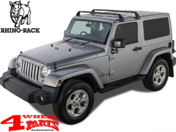 Overhead Roof Rack Bars Rhino Rack Wrangler JK JL year 07-19 2-doors