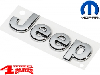 Grille Overlay Jeep Badge Chrome Wrangler JK year 07-18
