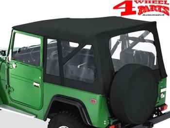 4 Wheel Parts | Supertop Soft Top Black Denim Toyota Land