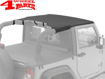 Header Bikini Top Black Diamond Wrangler JK Bj. 07-09 2-Türer