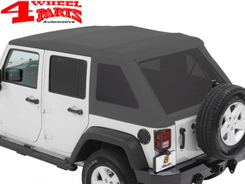 Trektop Nx Glide >> Trektop Nx Glide Soft Top Granite Gray Grey Jeep Wrangler Jk