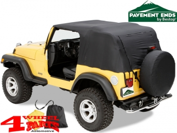 Emergency Notfall Softtop Pavement Ends Wrangler TJ Bj. 97-06