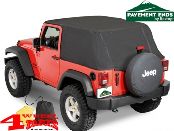 Emergency Softtop Pavement Ends Wrangler JK year 07-18 2-doors