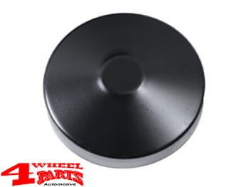Gas Cap Black vented Jeep CJ + Willys year 45-71
