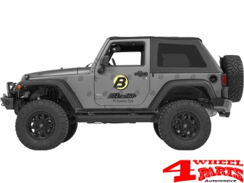 Powered Running board Steps NX Electrically Wrangler JK 07-18 2-doors