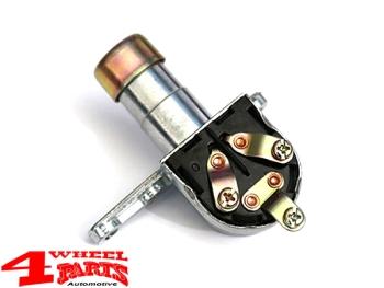 4 Wheel Parts Headlight Dimmer Switch In Floor Jeep Cj5 Cj6