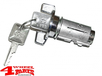 Ignition Lock Cylinder incl. Keys CJ + Wrangler YJ + Cherokee XJ 85-90