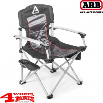 Arb airlocker camping stuhl mit festen armlehnen bis 150 for Stuhl 200kg belastbar