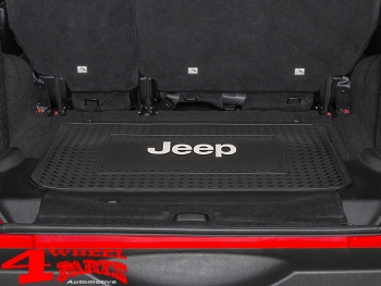 Cargo Liner Boot Mat Liner Rear Elite Series with Logo for Jeep Models