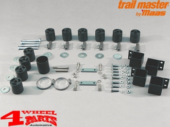 Body Lift Kit Trailmaster TÜV +50mm Suzuki Samurai SJ 410 - 413 year 1985- Short