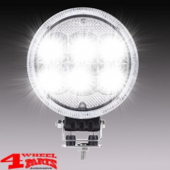 LED Additional Headlight with positioning light Ø 178mm 1-pce. 12/24 Volt