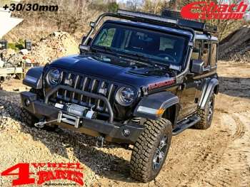 Lift Spring Kit Eibach with TÜV +30mm Wrangler JL year 18-19 4-doors