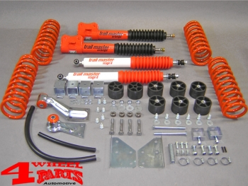 Suspension System Lift Kit from Trailmaster with TÜV +100mm incl. Bodylift Suzuki Vitara year 88-98 Short Body