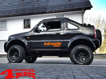 Suspension System Lift Kit Trailmaster with TÜV +50mm Sport Jimny FJ year 98-18 Gas Model with ABS