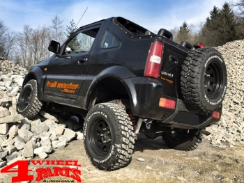 Suspension System Lift Kit Trailmaster with TÜV +50mm Comfort Jimny FJ year  98-18 Gas Model with ABS