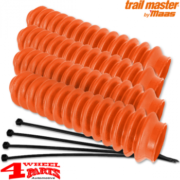 Shock Boot Set 4 pce. orange for all accessories Shock Absorbers