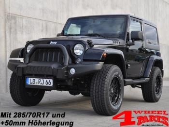 4 wheel parts | fahrwerk höherlegung combat black edition von