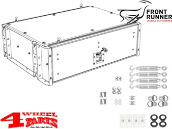 Drawer Kit on the Rear Cargo Area lockable Wrangler JK 07-18 4-doors