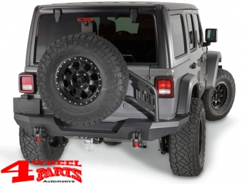 Tire Carrier Mount Warn Elite Series Wrangler JL year 18-19