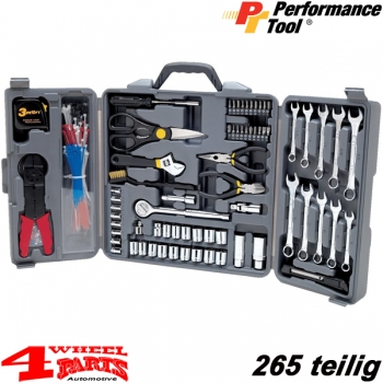 Tool Box 265 pieces - Electro Set - with inch and metrical tooling
