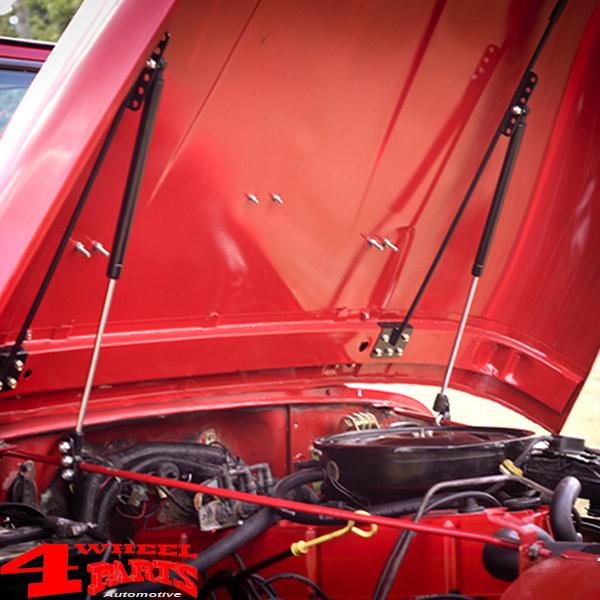 Rugged Ridge Hood Lift Kit 72-06 Jeep CJ /& Wrangler 11252.5