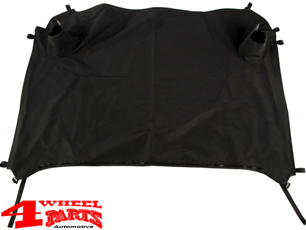 Tonneau Duster Deck Cover Black Diamond Softtop Jeep Wrangler Jk Year 07 18 2 Doors 4 Wheel Parts