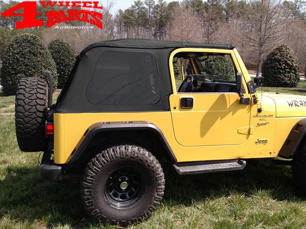 Installationsprofil Header Softtopleiste Stahl Jeep Wrangler JK 07-18 2+4 Türer