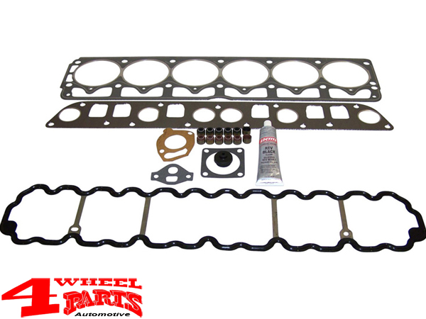 4 0 Jeep Engine >> Engine Gasket Set Upper Yj Tj Xj Zj Year 91 98 4 0 L 6 Cyl