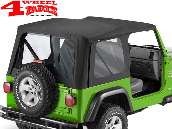Jeep Soft Tops >> Replacement Soft Top Black Diamond Jeep Wrangler Tj Year 03 06