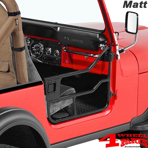 Element Doors Matte Bestop Jeep CJ7 year 76-80 & Half Doors Element Tube Doors Bestop Matte Jeep CJ7 year 76-80-4 ...