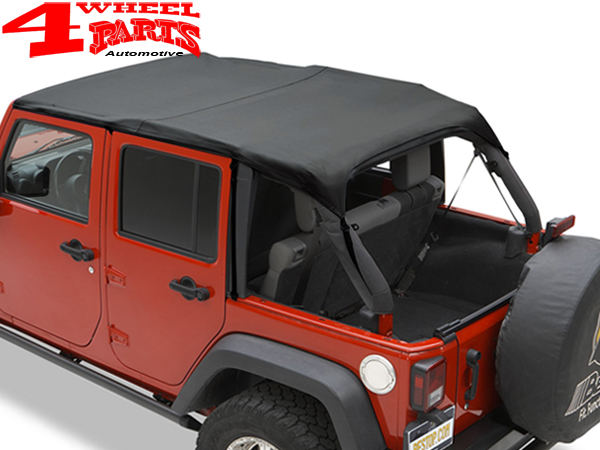 Safari Header Bikini Top Black Diamond Wrangler JK Year 10 18 4 Doors