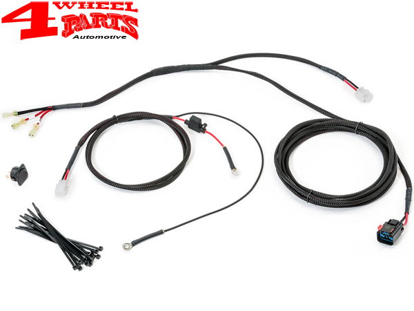 trektop pro soft top bestop defroster wiring harness jeep wrangler jk year  07-18 2- or 4-doors   4 wheel parts  4 wheel parts