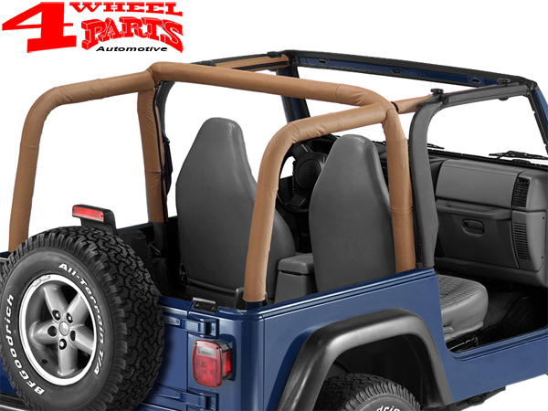 Roll Bar Sport Cover Spice Denim Bestop Jeep Wrangler Tj Year 97 02 4 Wheel Parts