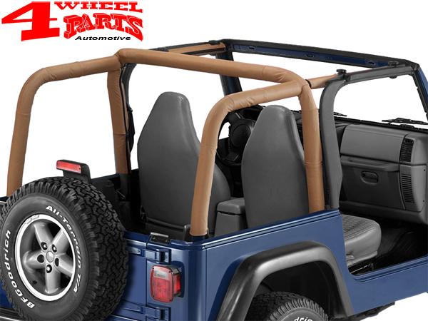 Roll Bar Sport Cover Spice Denim Bestop Jeep Wrangler Tj Year 97 02 4 Wheel Parts
