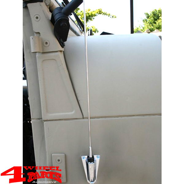 Kit Antenne Antenna Nero Jeep Wrangler Yj 87-95